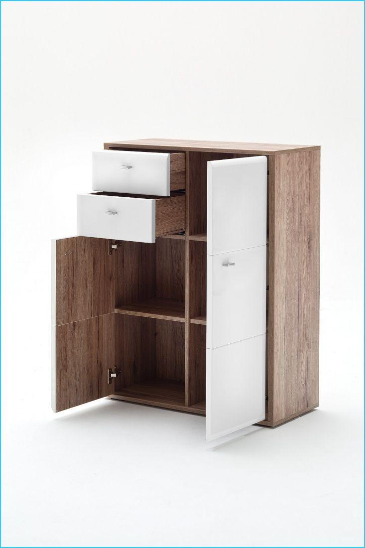 Kommode Almina 2 Tuerig Weiss San Remo Eiche Locker Storage Furniture Decor