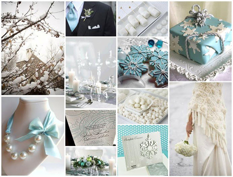 Tiffany Blue for a Winter Wedding | blue & white weddings ...