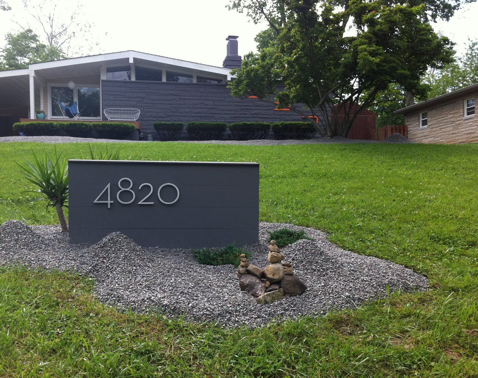1000+ images about House Numbers and Mailboxes for Midcentury ... - ^