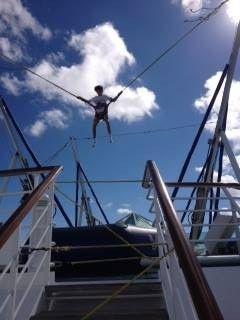Luke bungee jumping