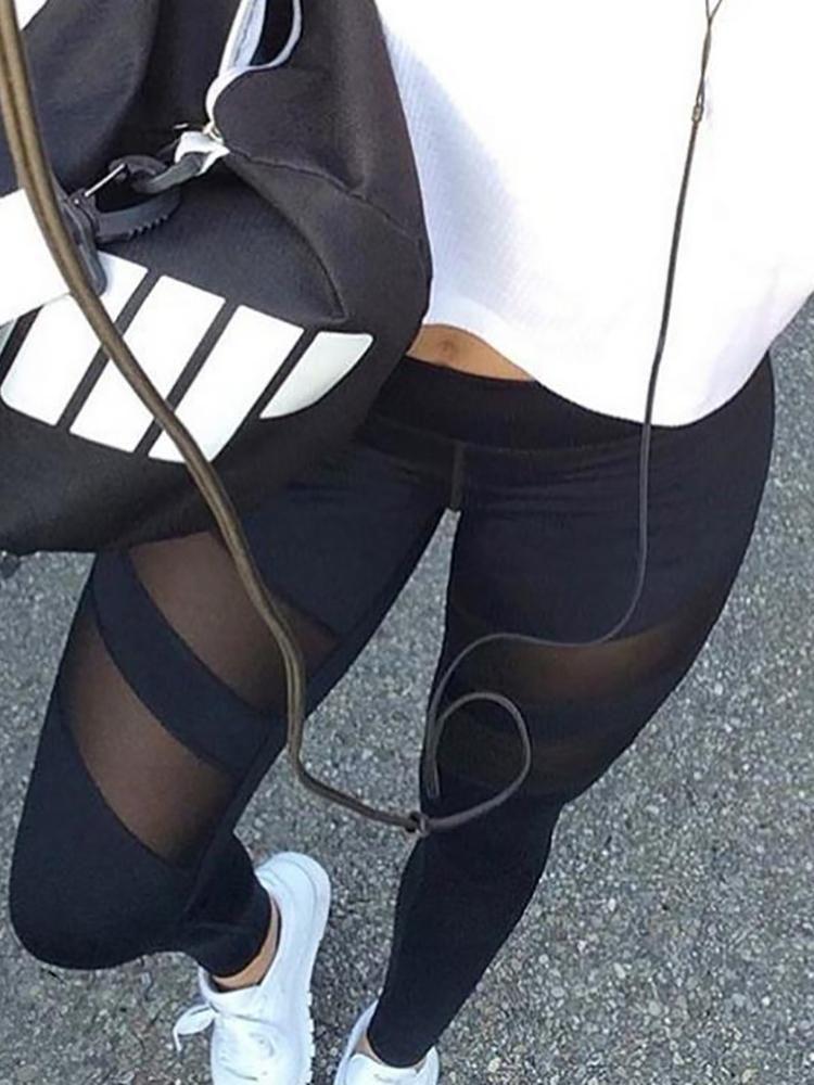See Through Leggings At School