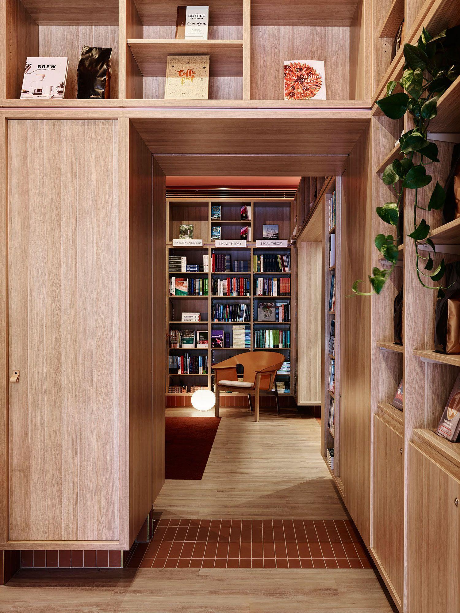 The University Of Nsw Bookshop Sydney By Sjb Storage Design