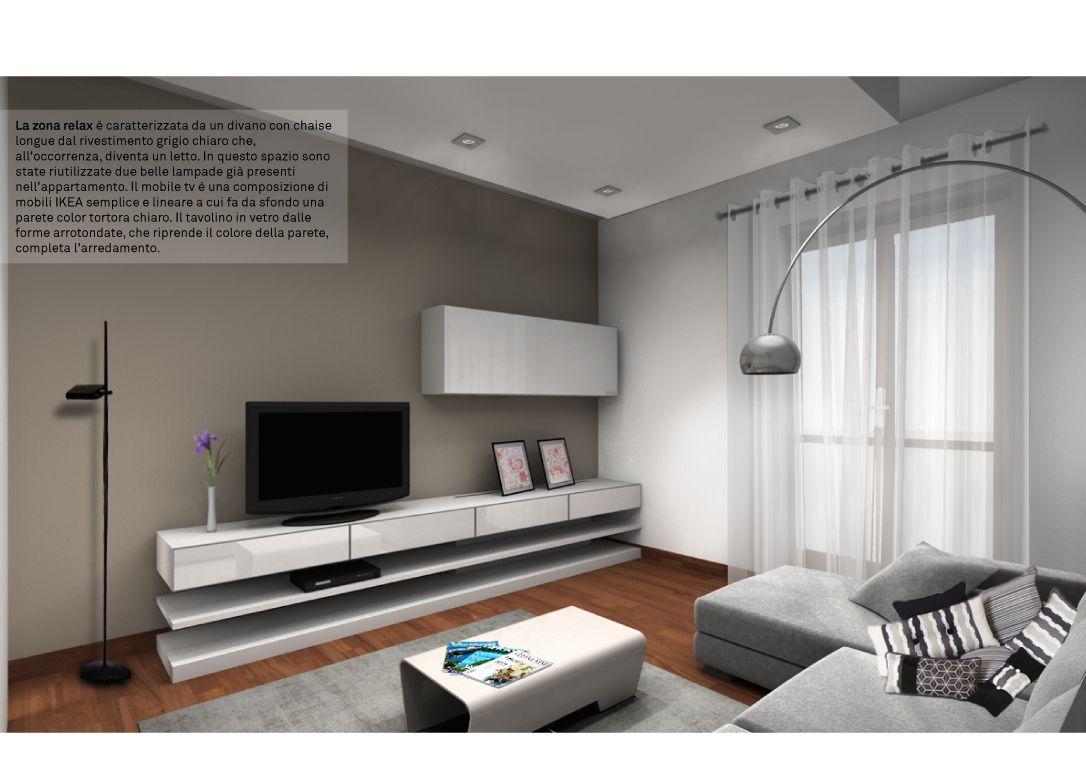 Spazio 14 10 architettura interni low cost roma for Mobili low cost roma