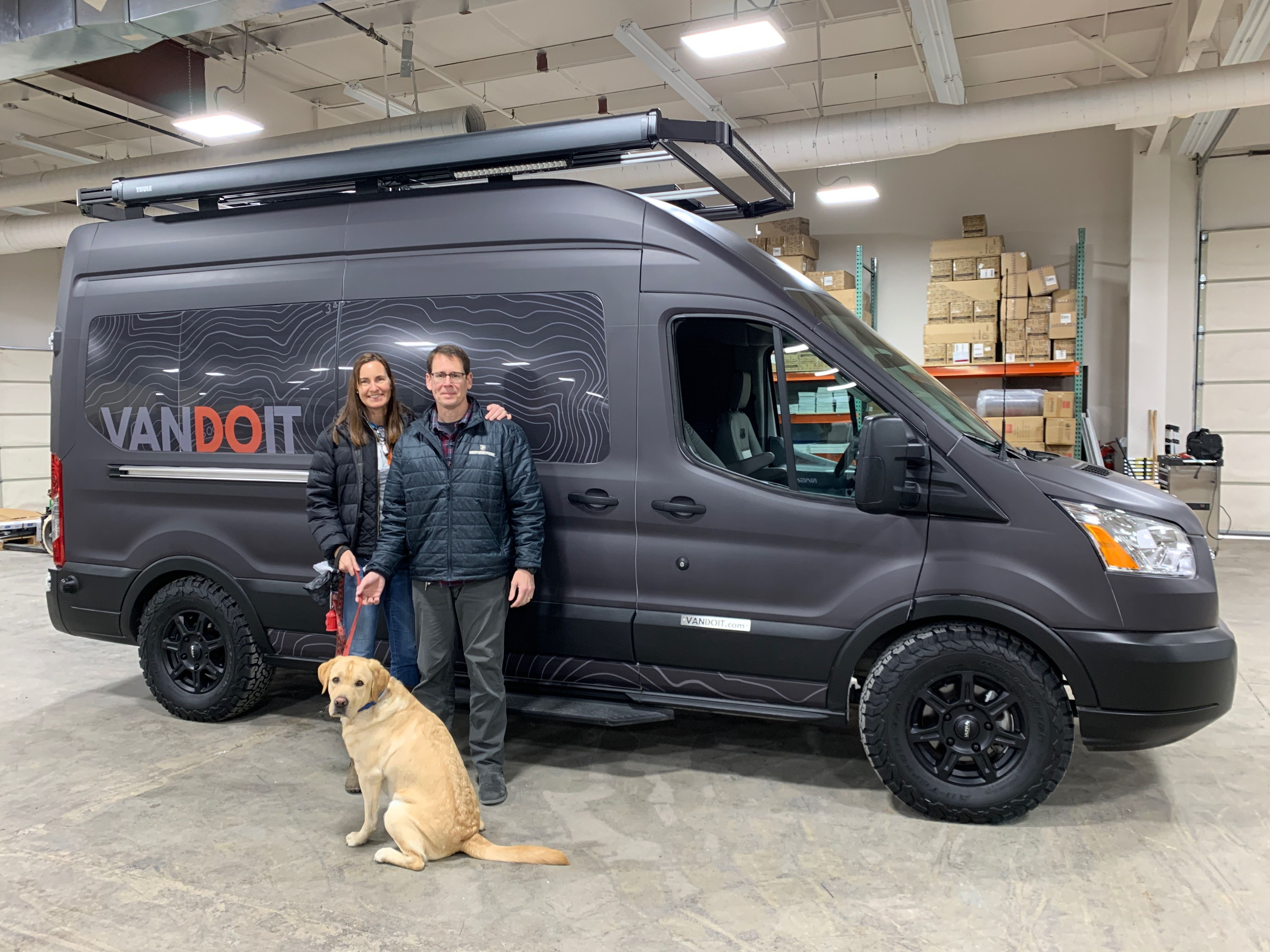 Congratulations To This Couple Their Pup On Their New Vandoit