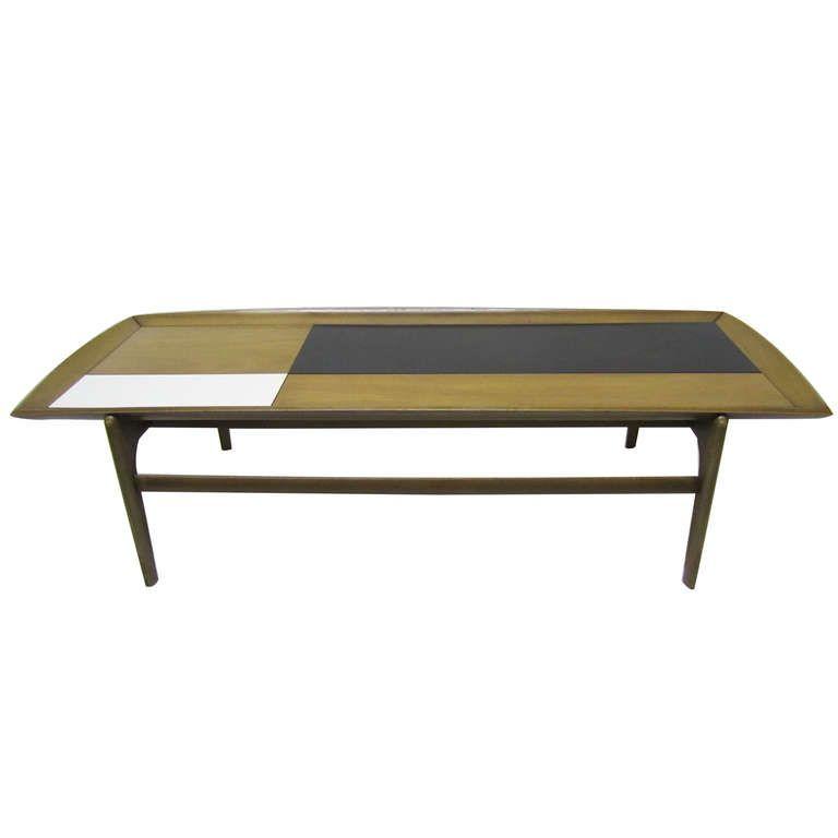 Mid Century Coffee Table John Keal For Brown Saltman At: Elegant Coffee Table By John Keal For Brown Saltman