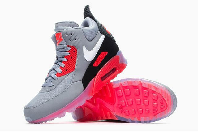 NIKE AIR MAX 90 SNEAKERBOOT ICE (INFRARED) | Sneaker Freaker