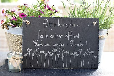 20x30cm Balkon Deko Garten Geschenk Laube Schiefer Schild Spruch Terrasse Garten Balk Nail Polish Crafts Diy Diy Crafts For Adults Hand Lettering