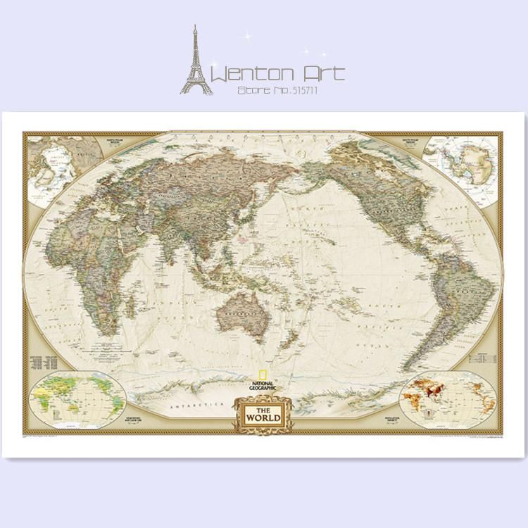 Wholesale wall decor art canvas buy classical decorative english wholesale wall decor art canvas buy classical decorative english world map painting on 100 gumiabroncs Gallery