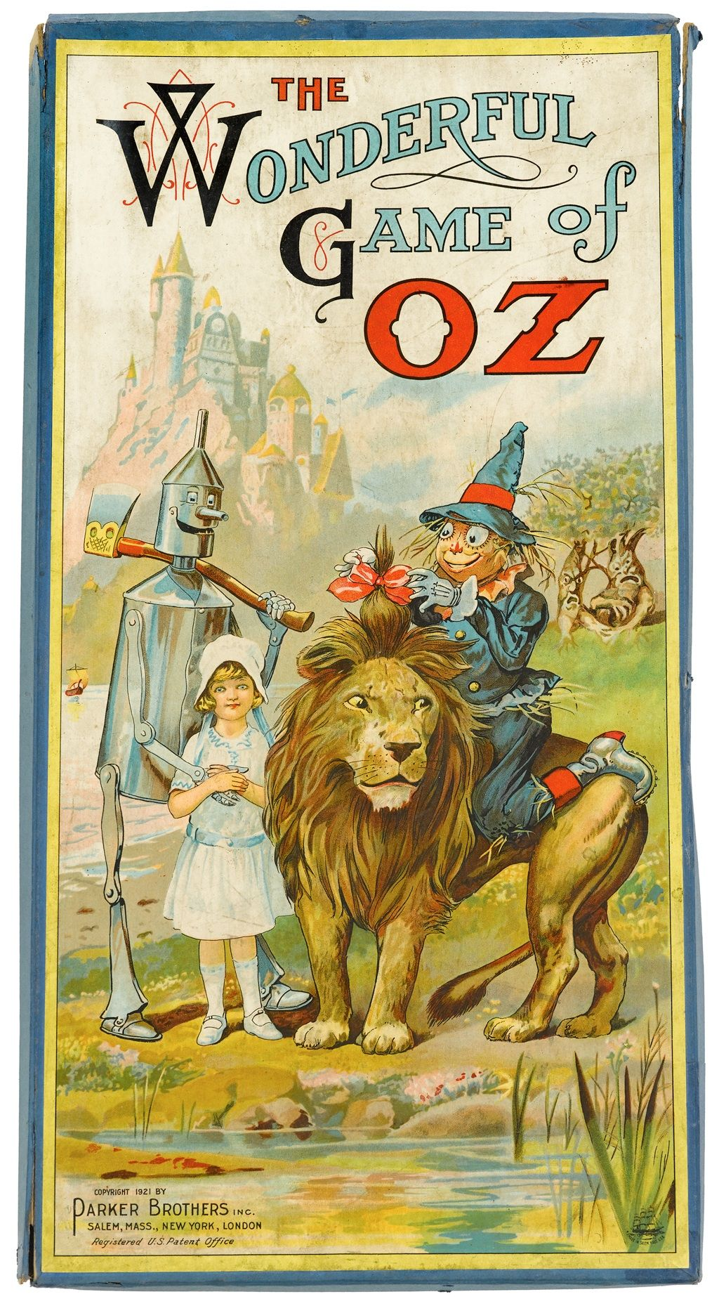 The First Wizard Of Oz Themed Board Game Sold To 1920s Superfans The Wonderful Wizard Of Oz Wizard Of Oz Wizard Of Oz Story