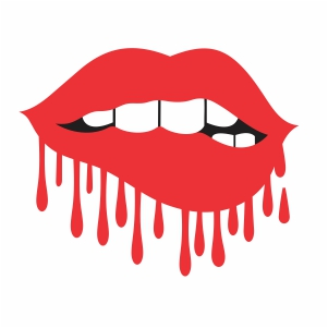 Download Dripping Red Lips Download all types of vector Art, stock ...
