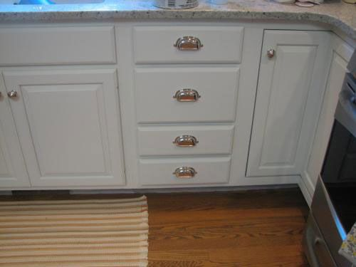 Pin On Chalk Painted Kitchen Cabinets