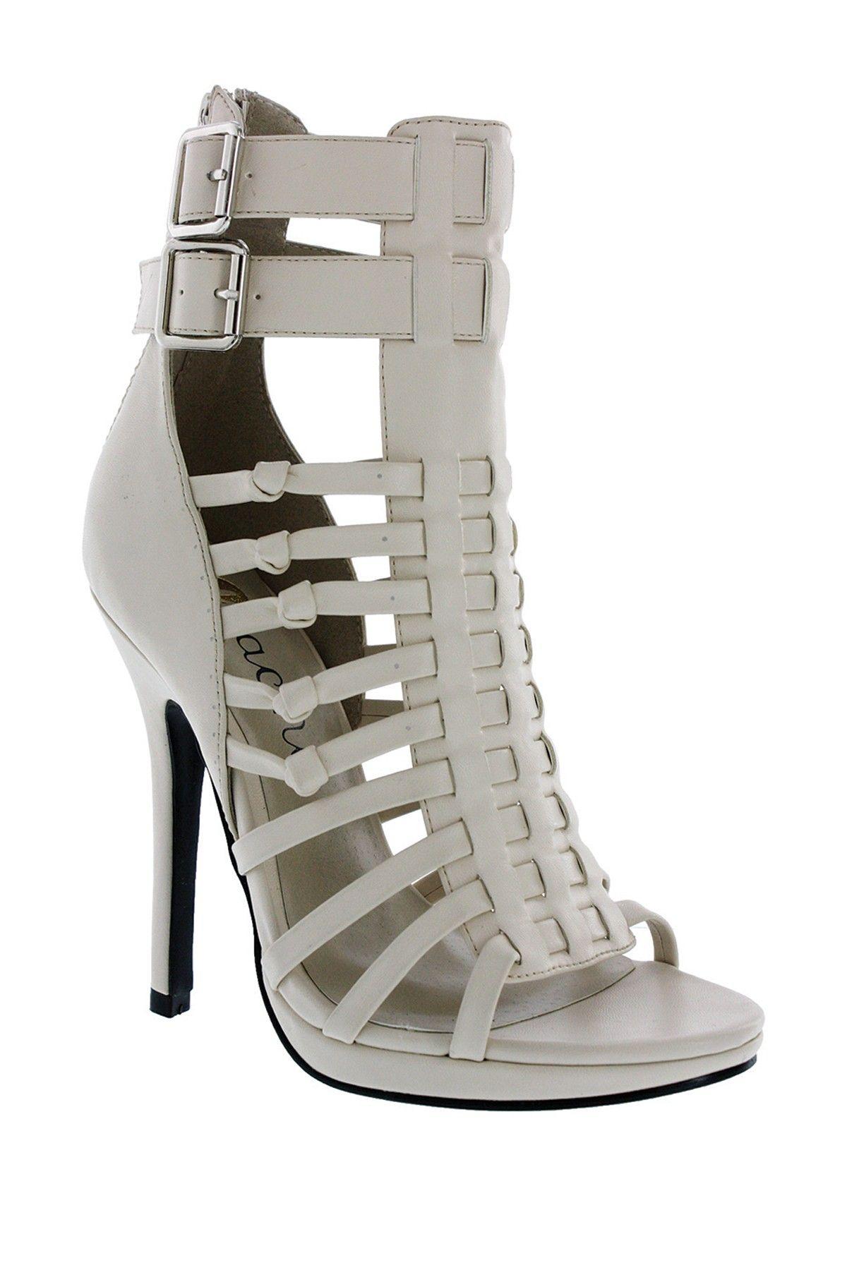 Machi Footwear Zuly Gladiator Heel love the colour