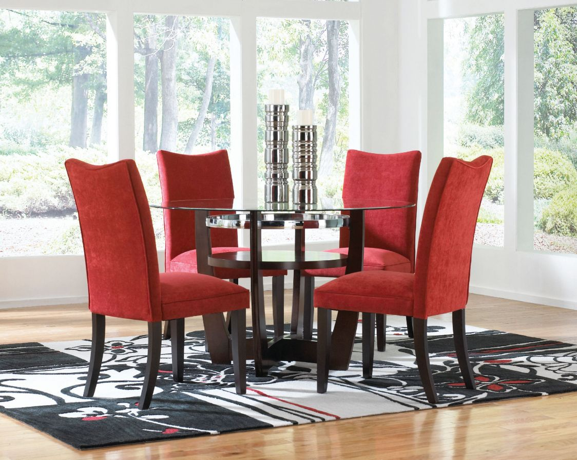 Red Upholstered Dining Room Chairs  Best Cheap Modern Furniture Brilliant Dining Room Upholstered Chairs Design Decoration