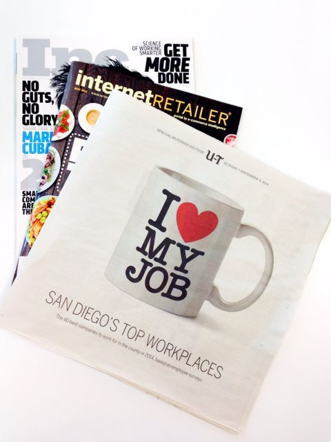 Miva Inc Ranked 15 On Union Tribune S Top 40 Workplaces In San