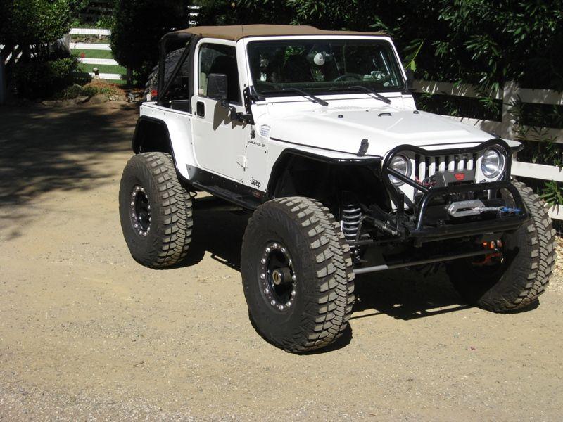 Jeep Tj Highline Fenders Jacked Up Trucks Jeep Tj Trucks