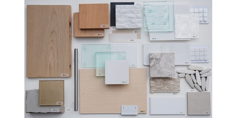 Palette material board shift architecture interiors detail pinterest material board for What is a sample board in interior design