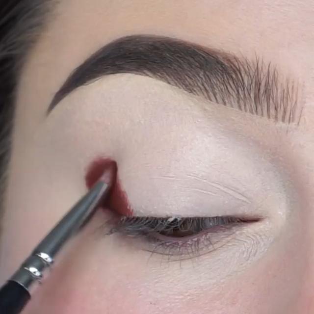 Maquiagem sombra nos olhos - maravilhoso!