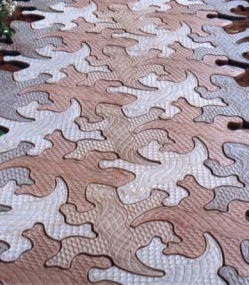 Gecko Stone Tessellated Interlocking Pavers Lightweight