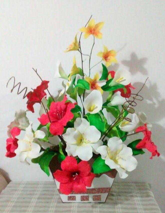 Flores De Eva 54 Ideias E Passo A Passo Para Voce Flores Em