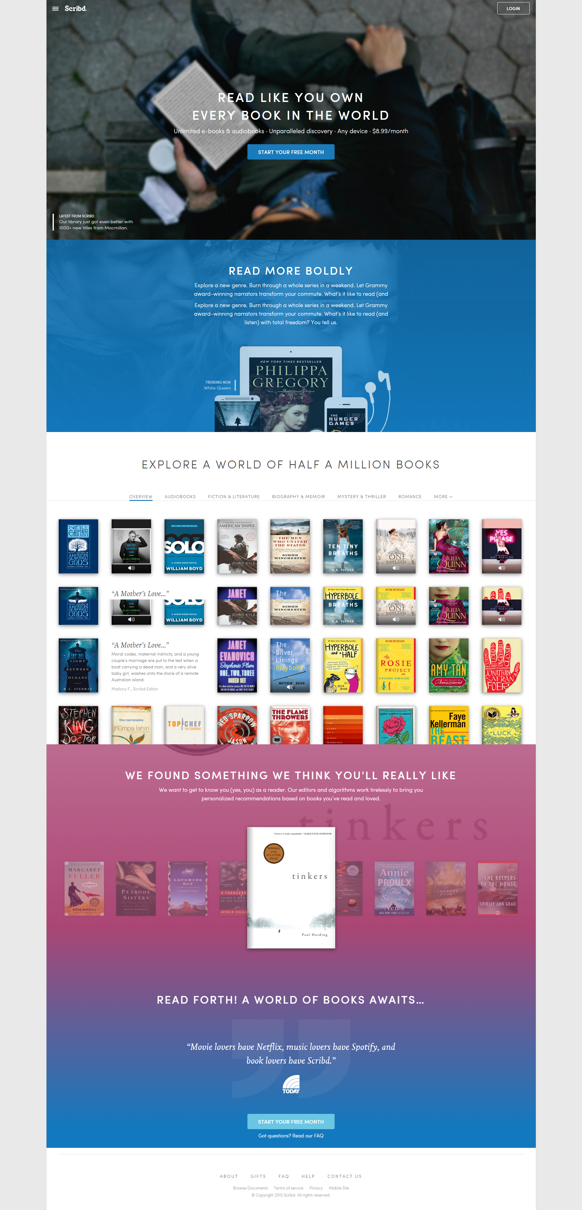 Great example of a #website design that isn't full width.