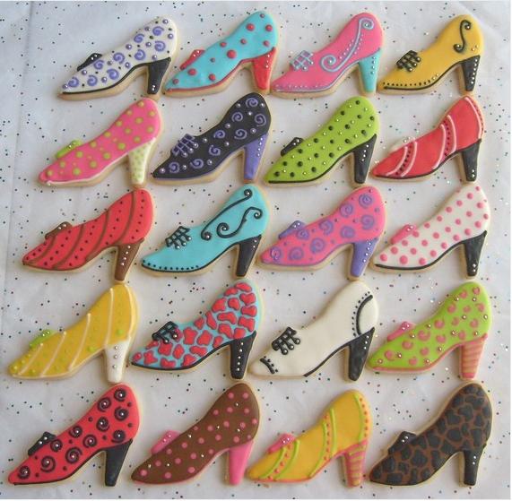 Image result for high heel sugar cookies