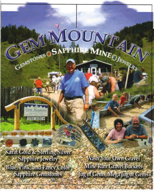 Gem Mountain Montana - Sapphire Mining - The Family went 2