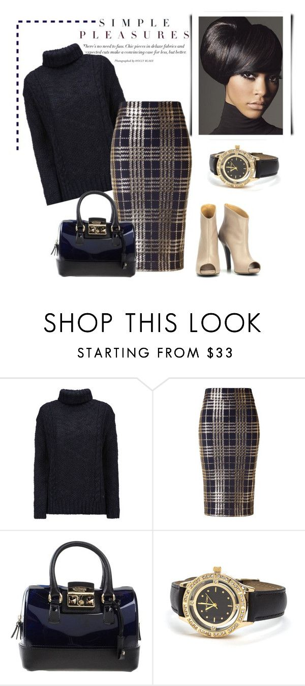 """*Plaid contest* - Set #3"" by sassy-elisa ❤ liked on Polyvore featuring мода, Woolrich, Furla и plaid"