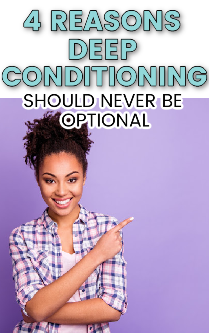 Find out all you need to know about deep conditioning natural hair, the best products to use and the benefits of deep conditioning for healthy hair and growth #naturalhair #haircare #curlyhair #hairtips
