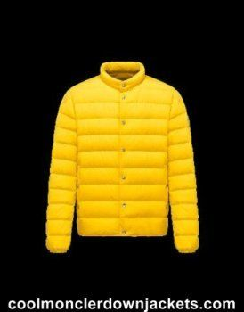 moncler yellow jacket