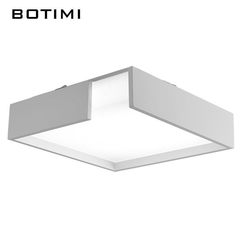 Botimi modern iron led ceiling lights modern white black metal botimi modern iron led ceiling lights modern white black metal ceiling lamp square lamps for room aloadofball Image collections