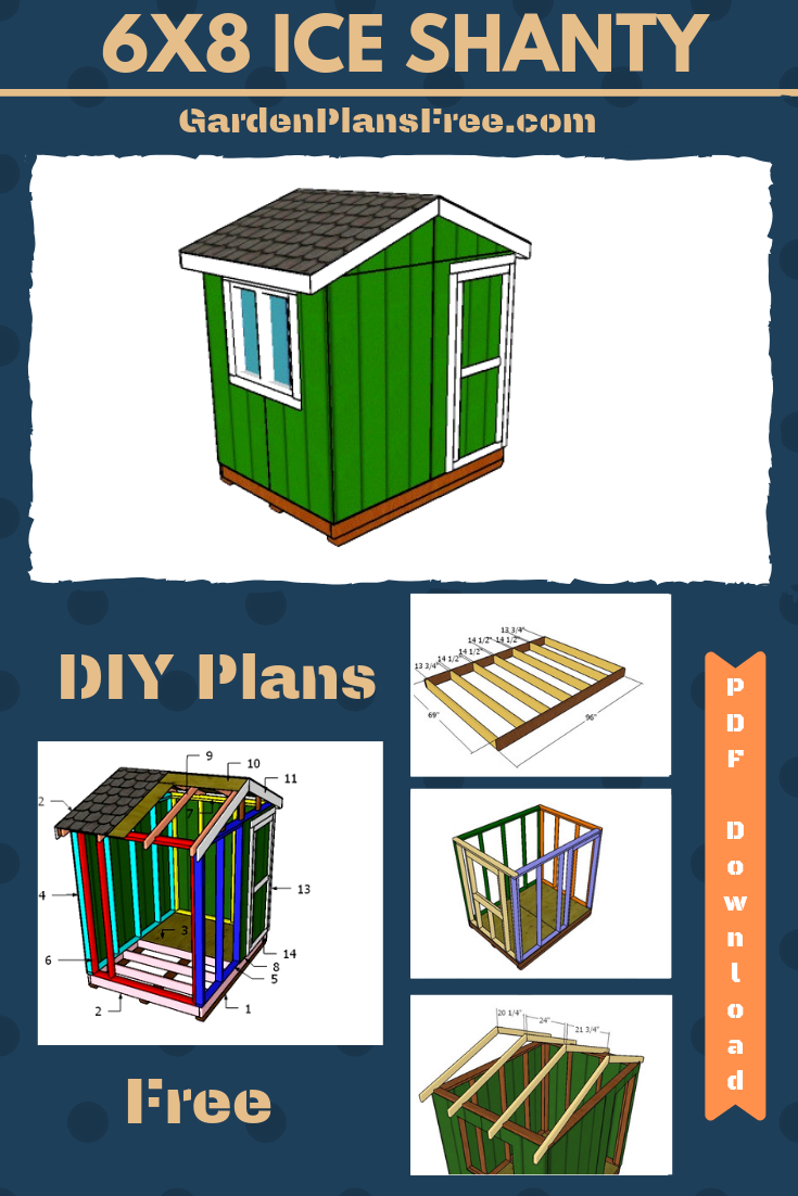 How to Build a 6x8 Ice Shanty