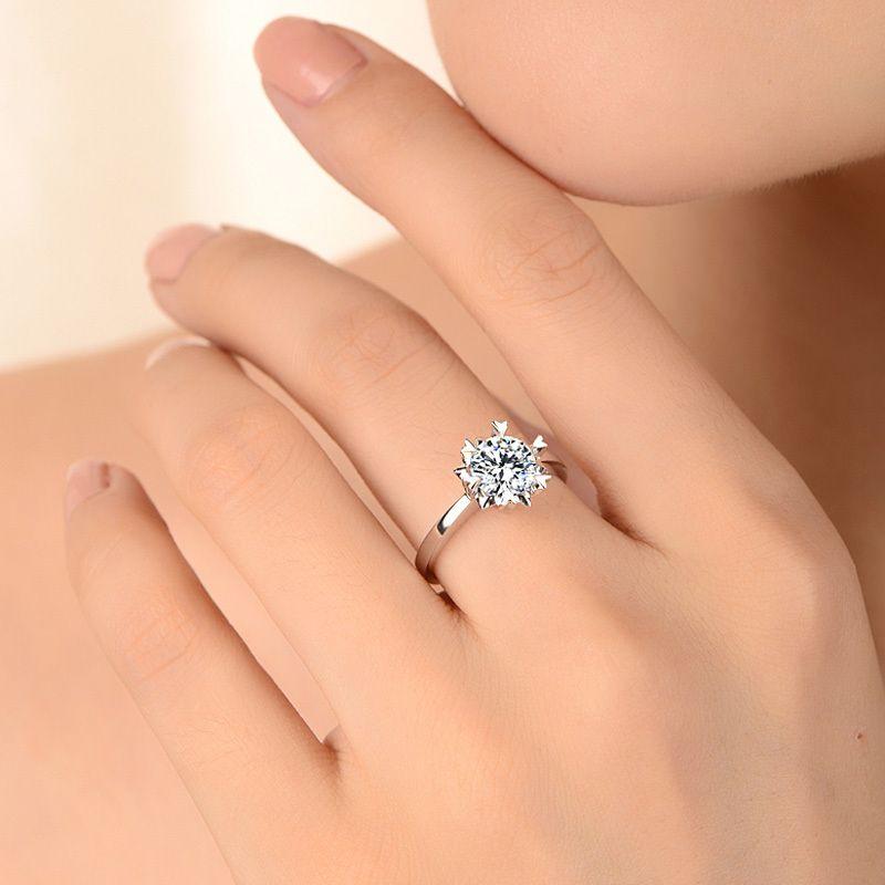 Wedding Rings On Finger Hld. | Rings | Pinterest | Ring, Stylish ...