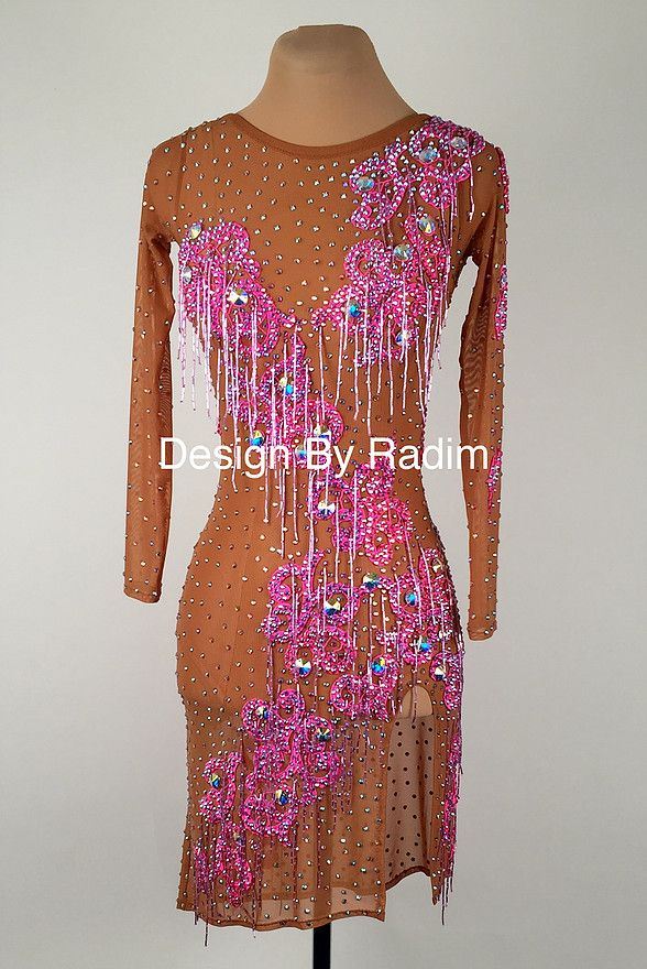A collection of Latin Ballroom Dresses and Rhythm Dresses available ...
