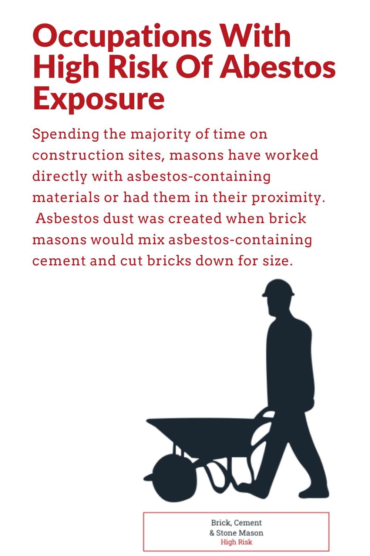 50++ Asbestos or dust