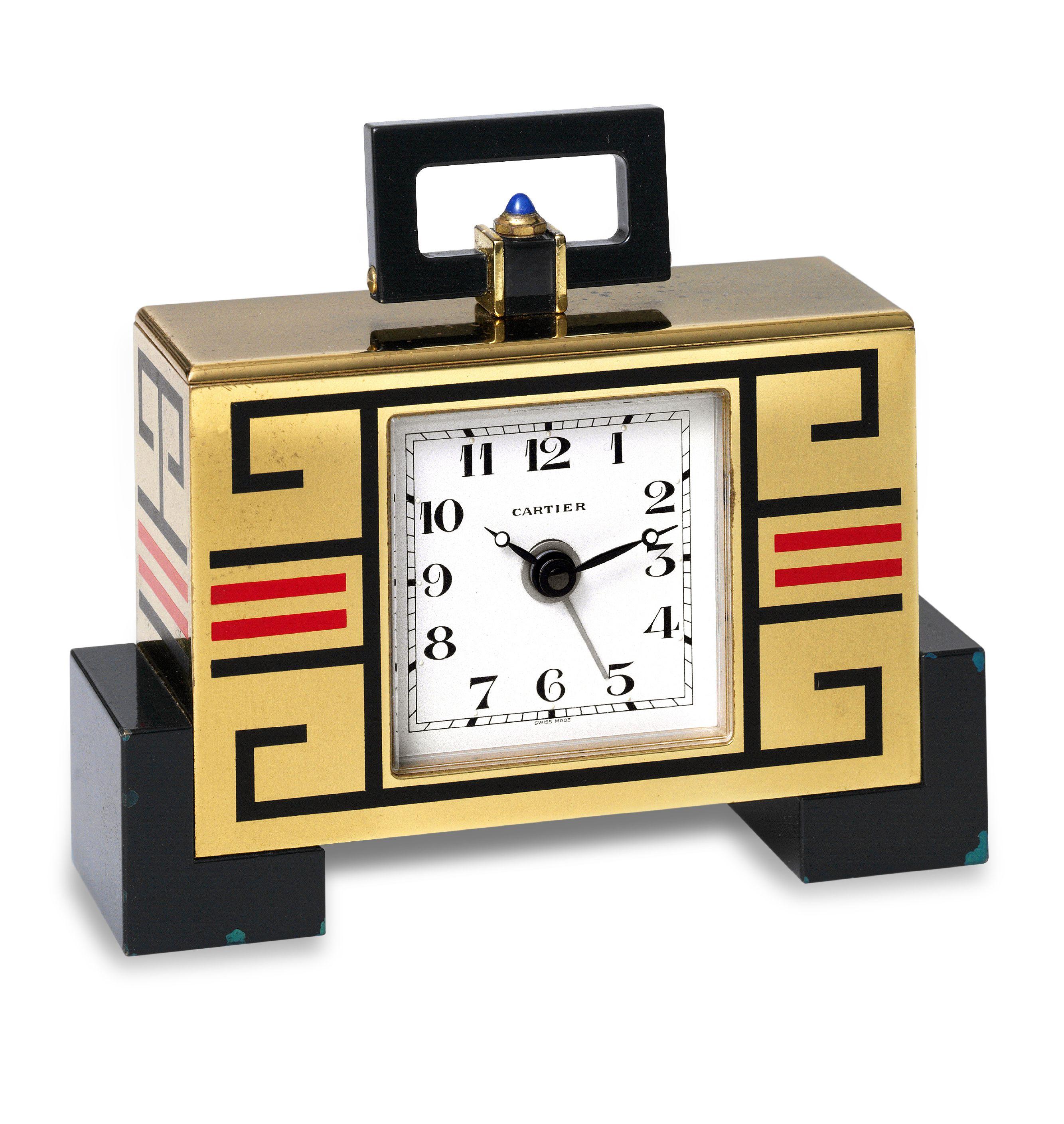 Cartier Art Deco Clock Furniture