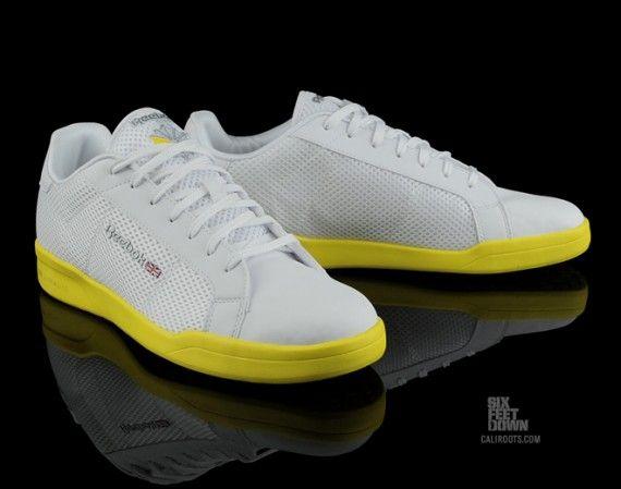 Reebok NPC II Ultralite - White - Yellow - SneakerNews.com  0c8ad271d