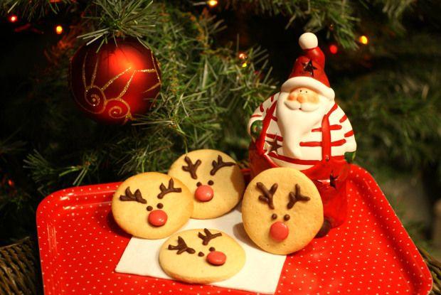 Galletas navideñas de rudolph   Rudolph Christmas cookies