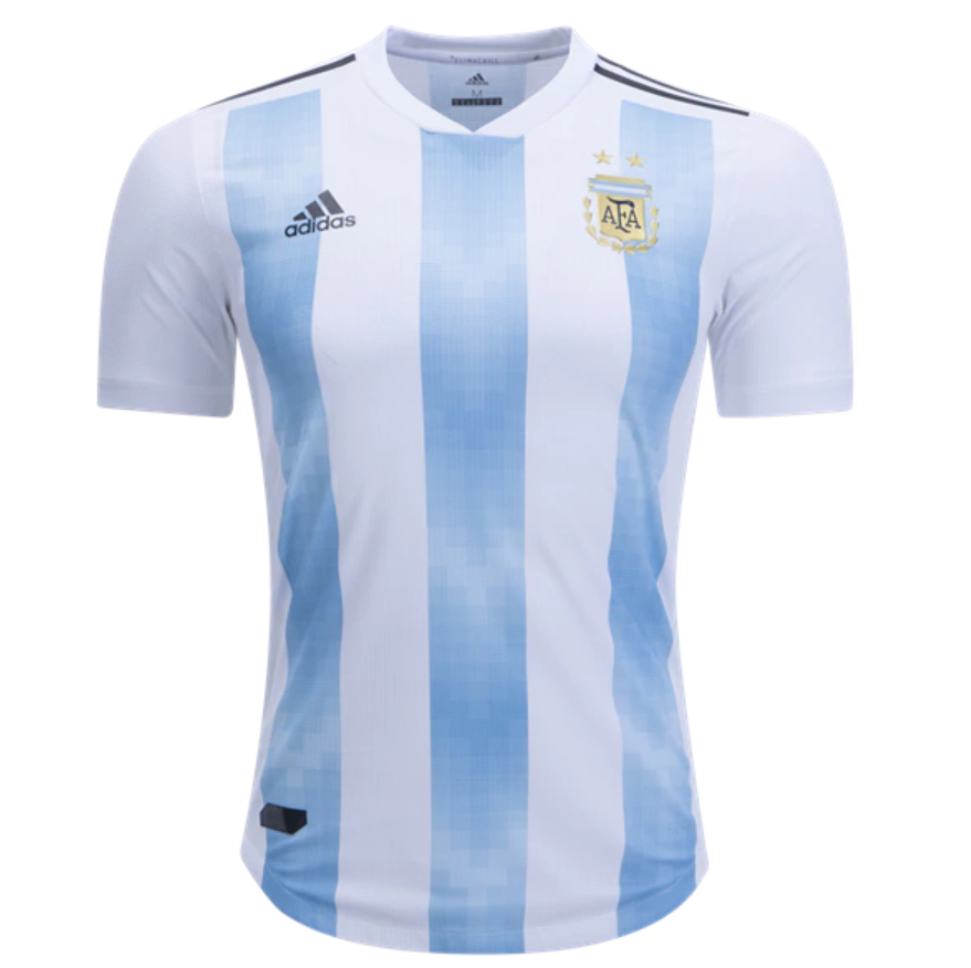 2e6407fd1 Argentina 2018 World Cup Home Match Men Soccer Jersey Personalized Name and  Number - zorrojersey