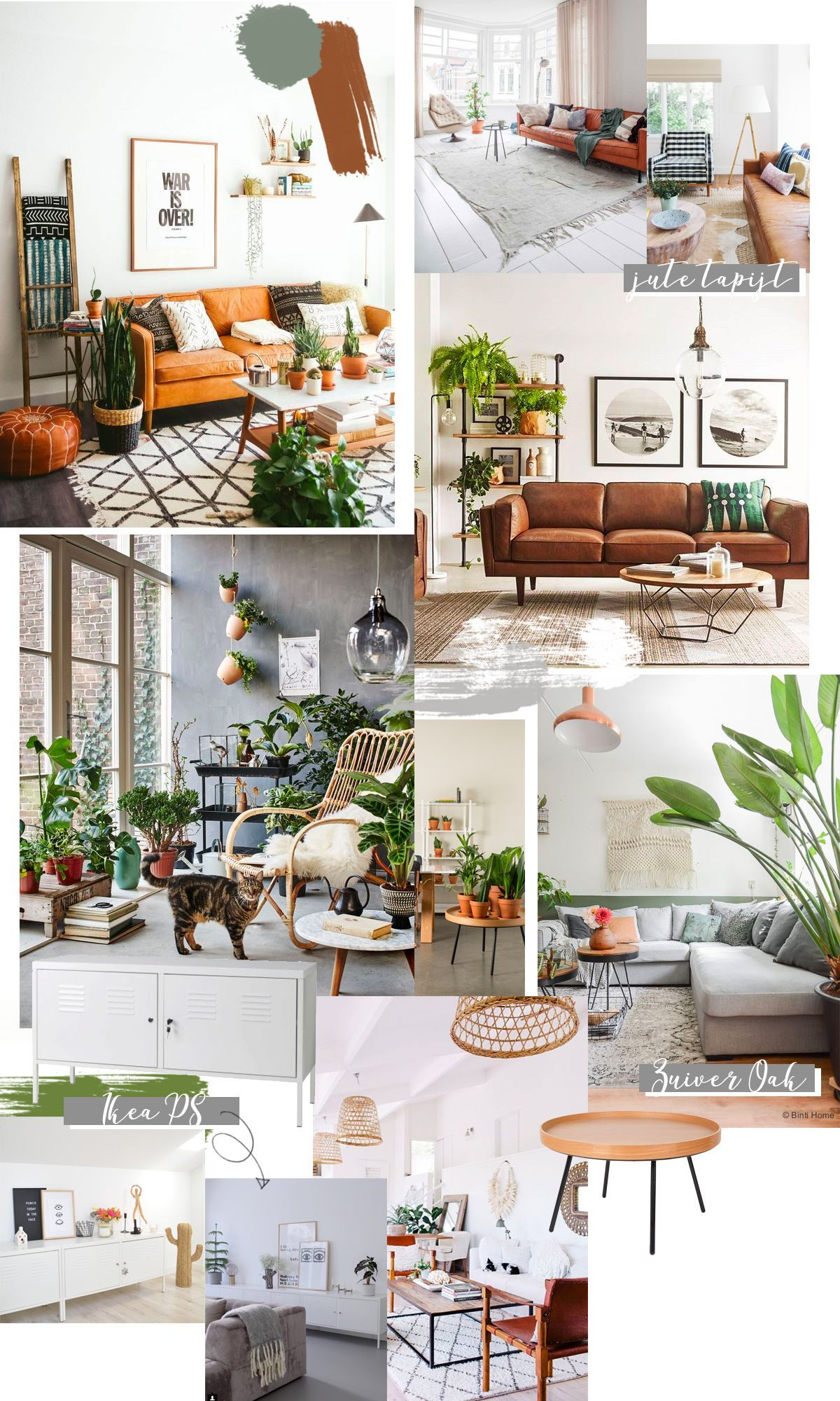 Living room inspiration cognac leather sofa with images