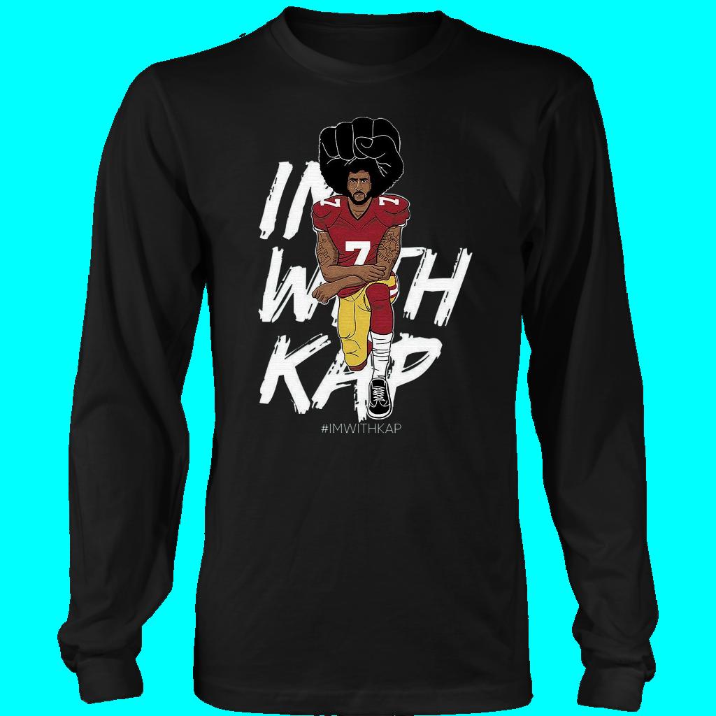 3728f8207 ImWithKap Colin Kaepernick Kneeling Premium T-Shirt
