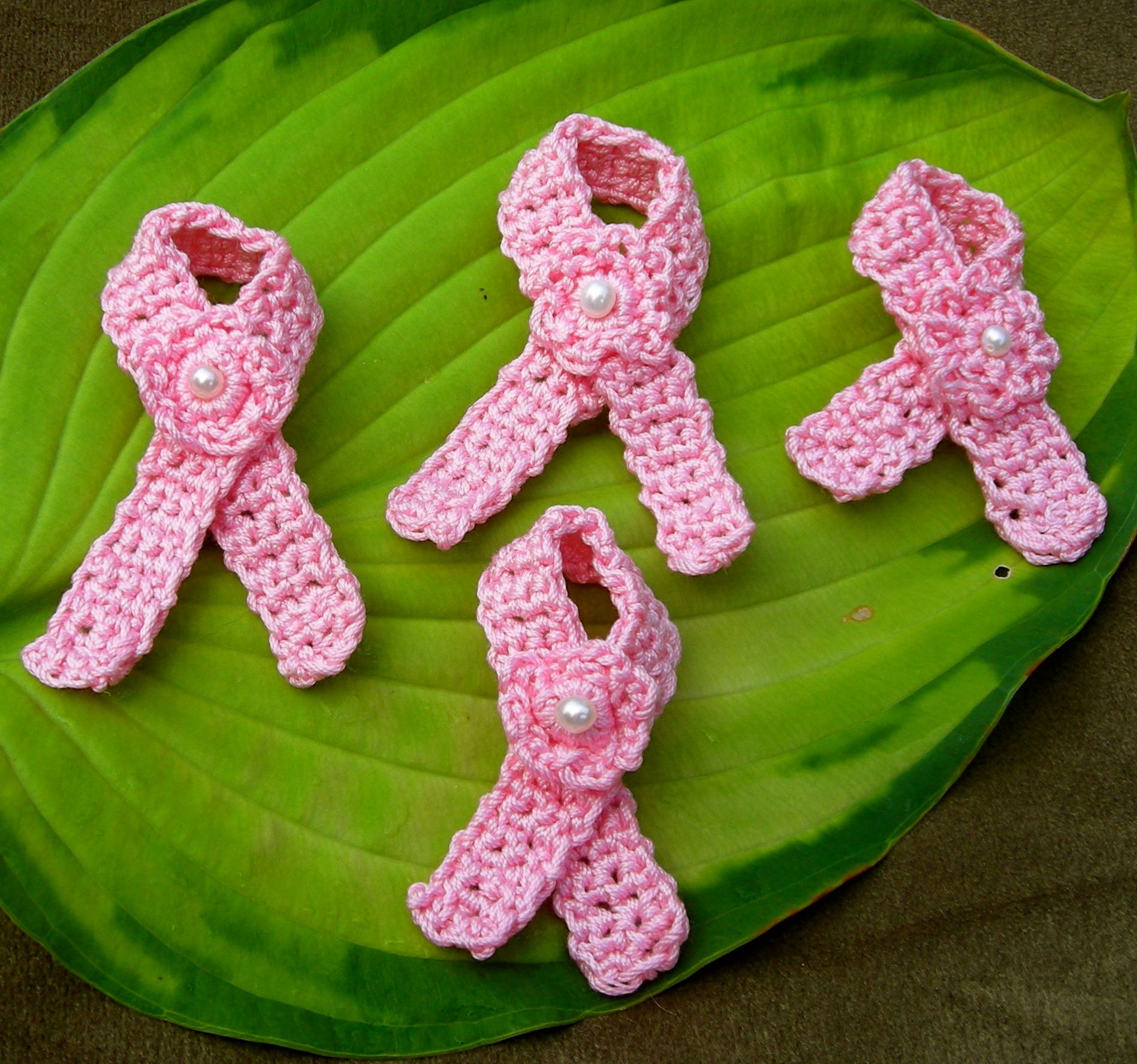 Pink Ribbons Universal Symbol For Breast Cancer Awareness Breast