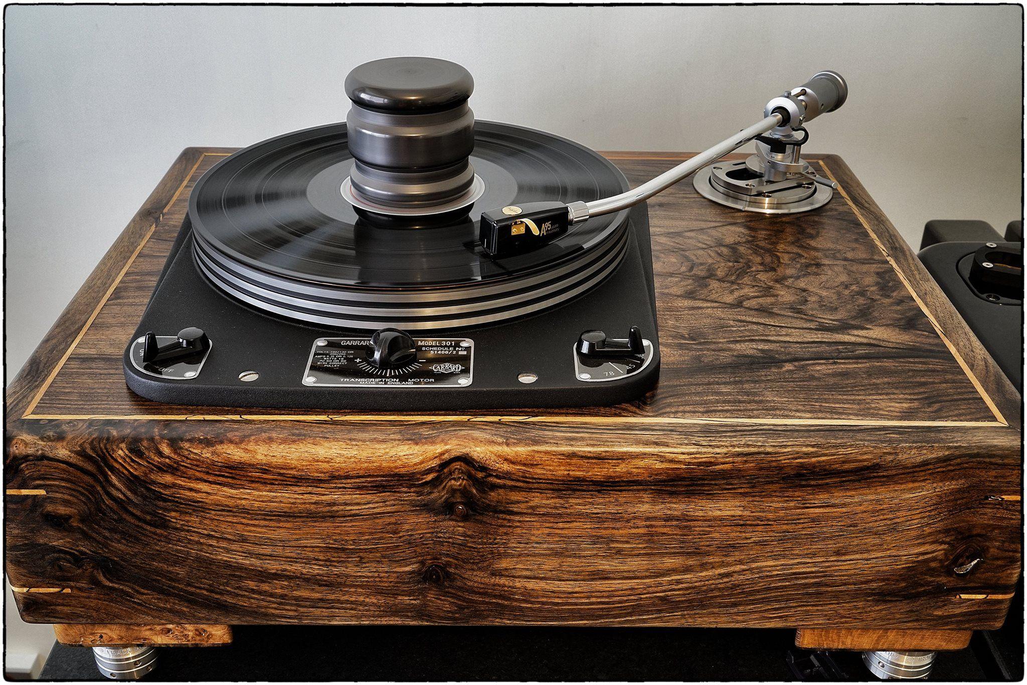 Andrews Audio Grail Sable Special Edition Garrard 301