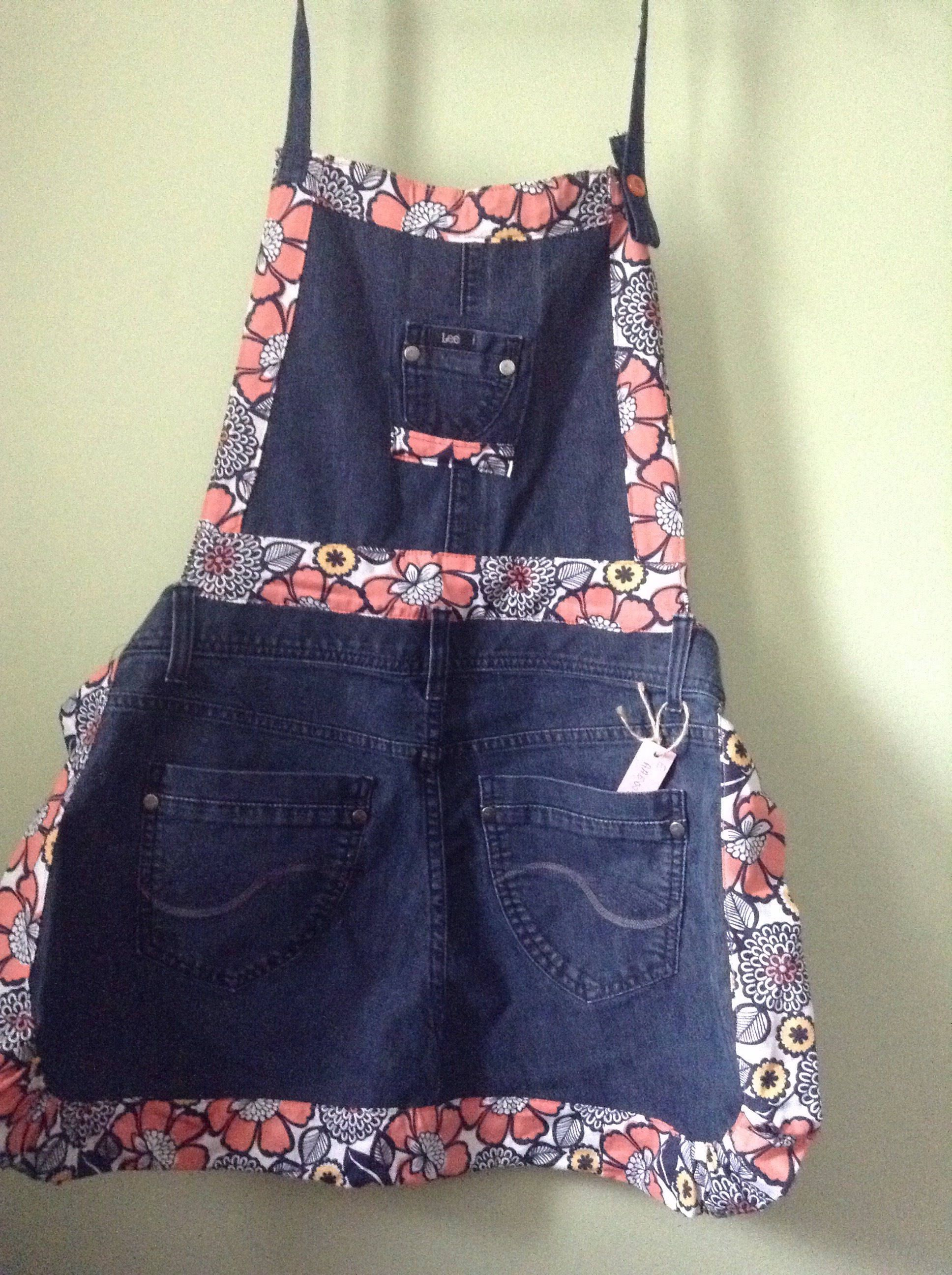 A personal favorite from my Etsy shop https://www.etsy.com/listing/516678382/denim-apron