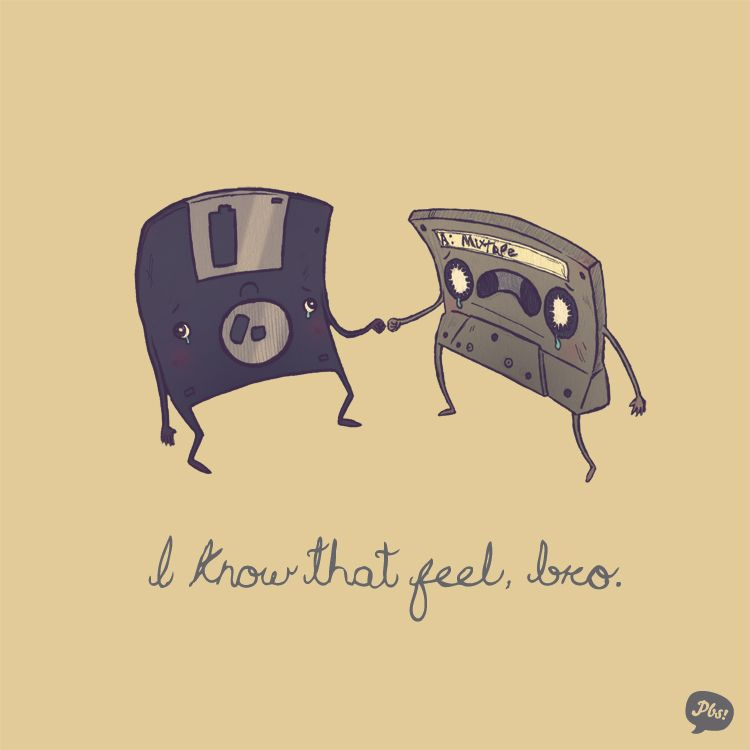 I know that feel, bro... (sé qué se siente, hermano...); by Paperbeatsscissors:  http://bit.ly/yMPWQQ  // Tags: #Geek