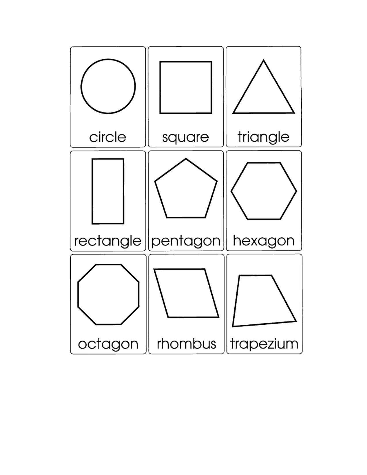 2d shape cards google search math pinterest shaped cards and math. Black Bedroom Furniture Sets. Home Design Ideas