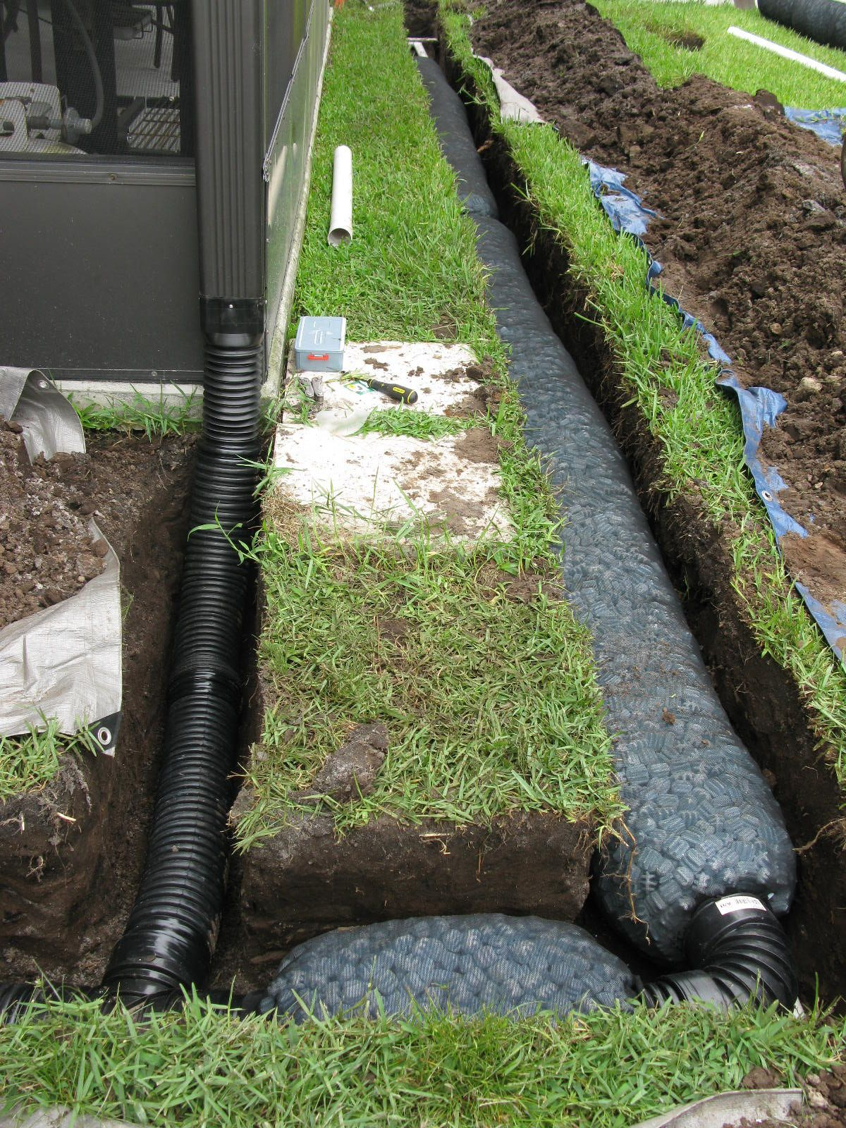 What Are French Drains And How To Install Them Backyard