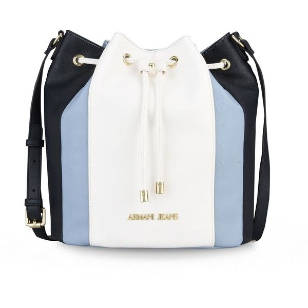 Armani Jeans Messenger Bag ($205) ❤ liked on Polyvore featuring bags, messenger bags, blue, blue messenger bag, armani jeans messenger bag, blue bag, courier bag and leather bags