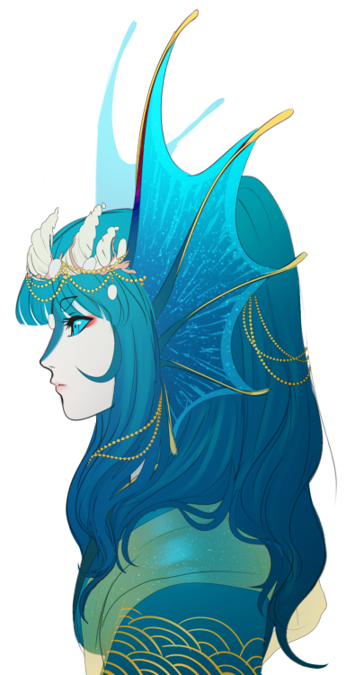 whitemantis suihen water dragon