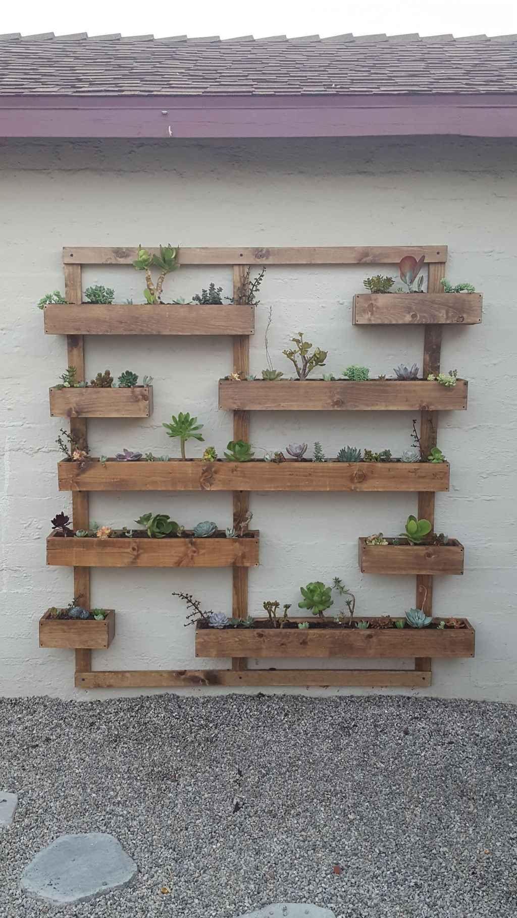 85 Amazing Vertical Garden Ideas For Wall Decorations Garden Wall Decor Vertical Garden Wall Garden Wall Designs