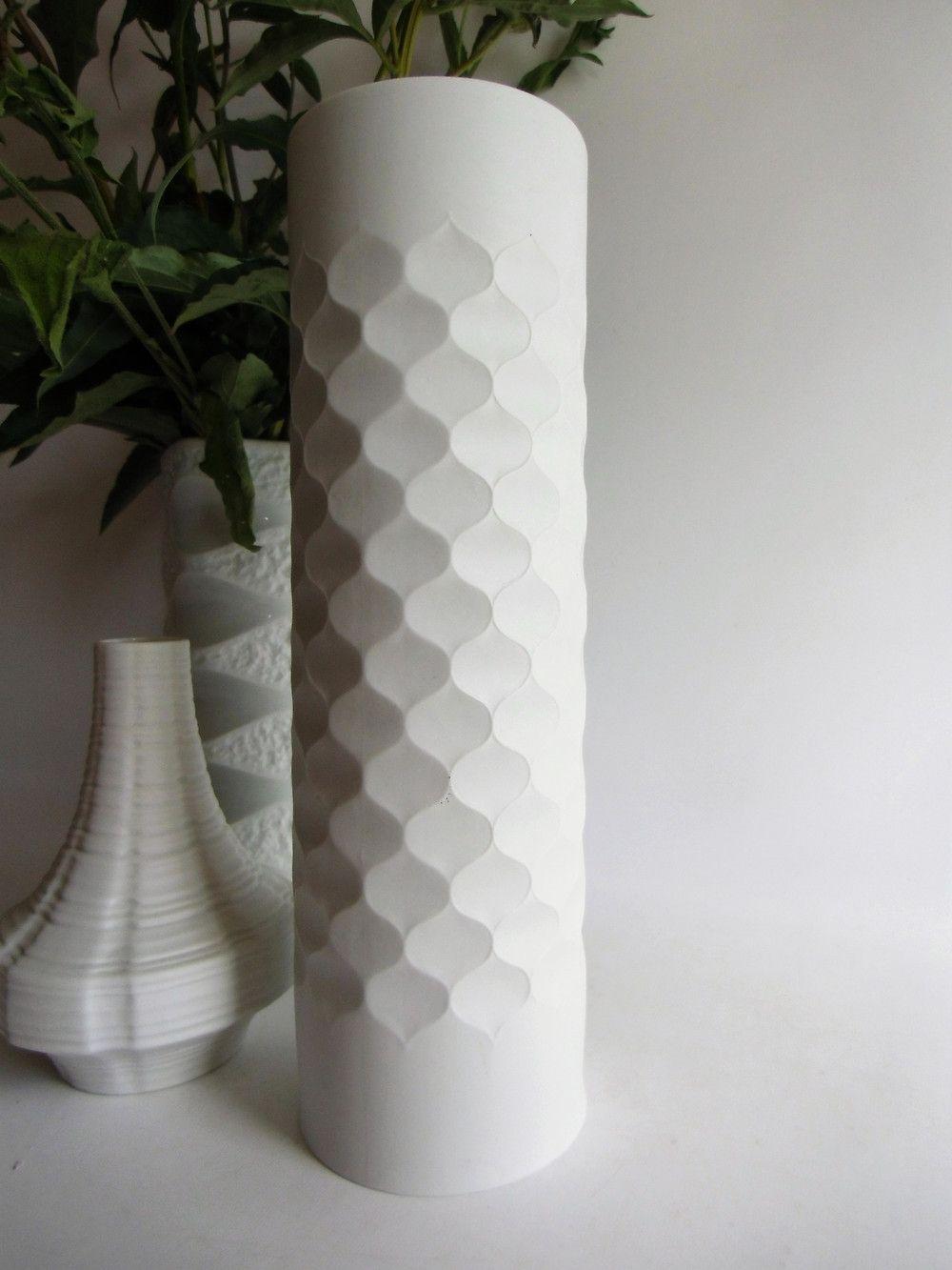 Vintage Vasen Vase Bisquit Porzellan Scherzer Ein Designerstück Von Susduett Bei Dawanda Vintage Vasen Vase Weiß Keramik Design